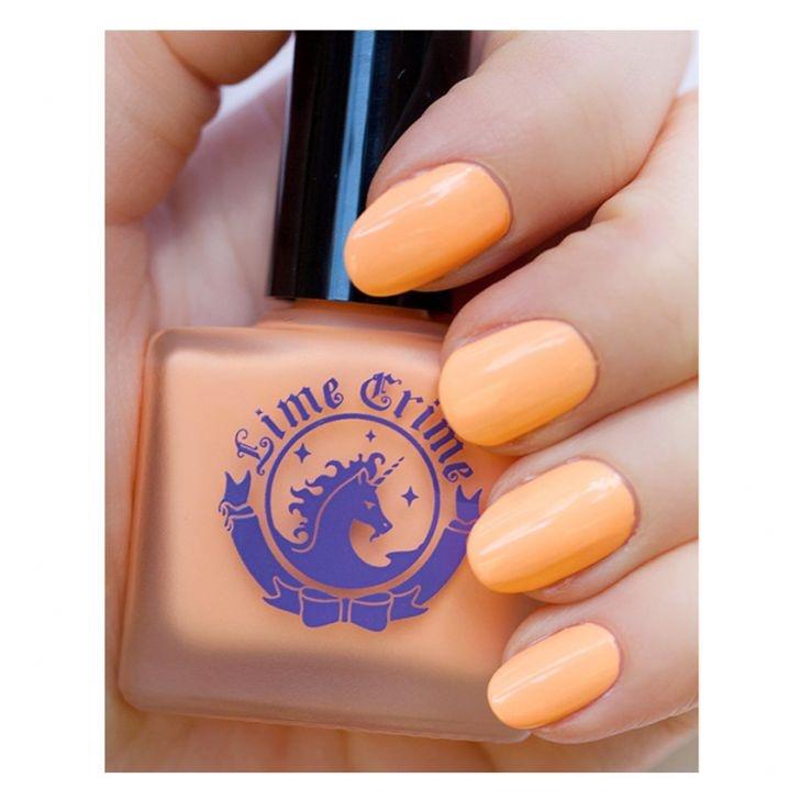 Lime Crime Nail Polishes Peaches Cream