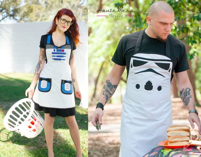 Star Wars Inspired Cooking Aprons | Craziest Gadgets