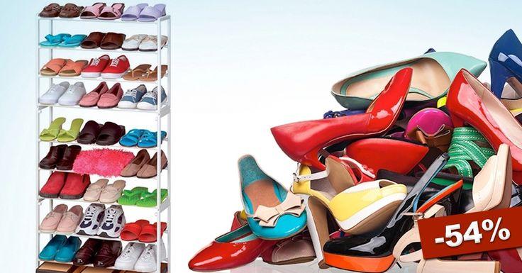 cipőtároló - 10 soros