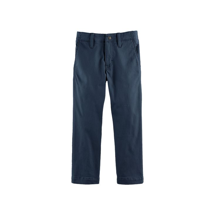 Boys 4-7x Lee Xtreme Slim Fit Chino Pants, Size: medium (5), Blue (Navy)