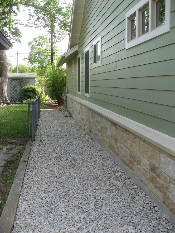 front side yard landscaping with gravel garden ideas