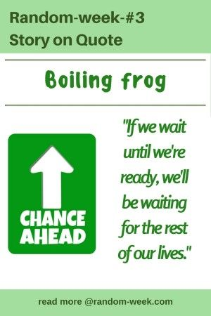 Are You BOILING FROG? Read to know.
