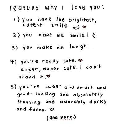 Love Letter Quotes For Him Tumblr : crush, cute, lists, love, love letters, quote ? ?????? ...