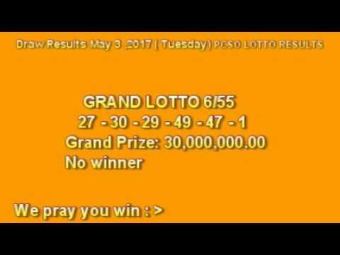 PCSO LOTTO RESULTS  MAY 3,  2017  Winning Numbers - (More info on: https://1-W-W.COM/lottery/pcso-lotto-results-may-3-2017-winning-numbers/)