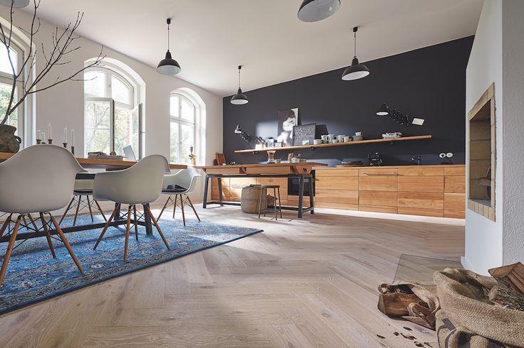 Meister houten vloer visgraat - Longlife parket Residence eiken
