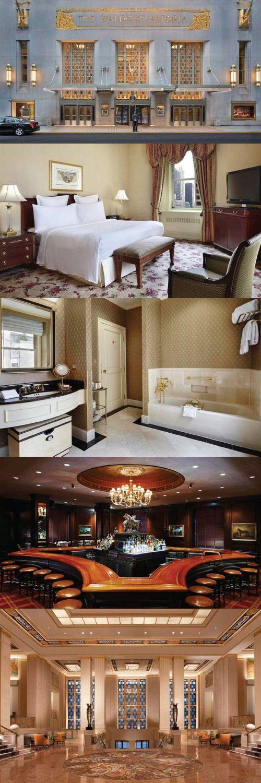 The Waldorf Astoria New York City United States Newyork Luxury Waldorfastoria