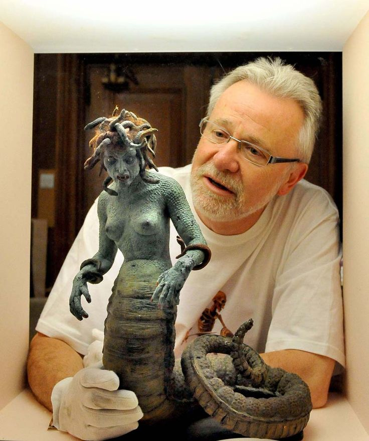 From the collection of the late Ray Harryhausen, Grand Master of Stop Motion Animation (Medusa, CotT)