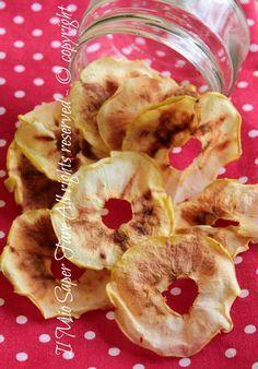 Chips mele microonde veloci e croccantissime