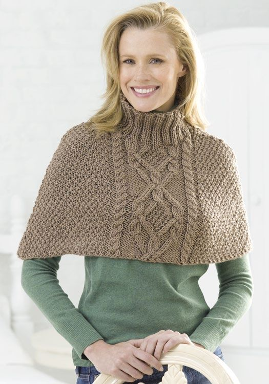 8 Favorite Free Shawl and Poncho Knitting Patterns - Stay warm and toasty this winter with these free knitting patterns