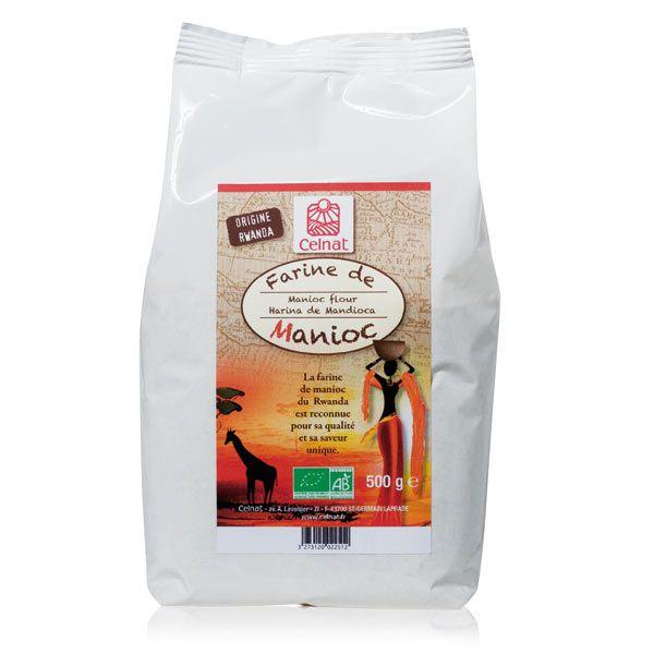 Farine de manioc Se marie très bien avec : fécule de pomme de terre Dosage idéal pour un pain : 50% à 100% Info : Saveur sucrée
