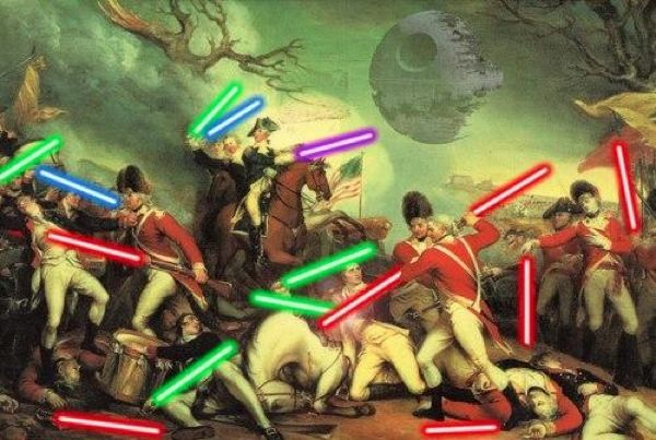 Battle of Princeton, Star Wars style