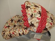 """seriously! """"cutie_pie_bebe"""" on eBay makes such cute car seat covers! I'm """"awwing"""" all over the place scrolling down her eBay shop page! :) Cute gift ideas!"""