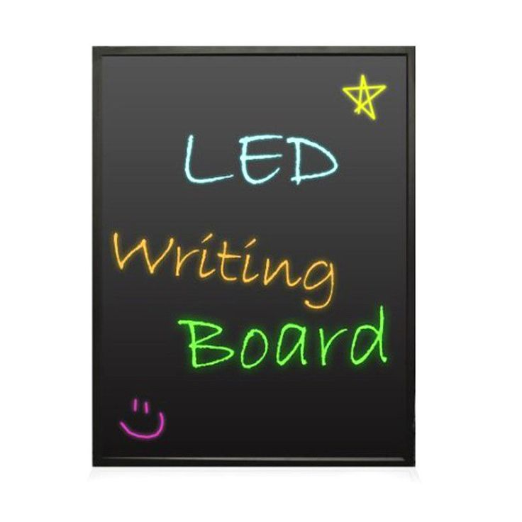 Pyle PLWB6090 Erasable Illuminated Led Writing Board
