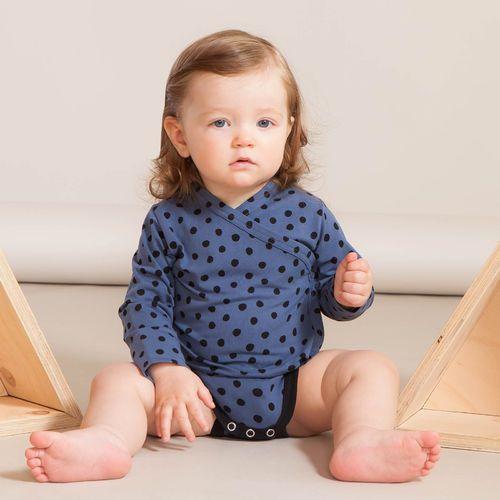 PYRY vauvan kietaisubody, sininen | Leikkisä lasten syysmallisto 2016 on nyt saatavilla. Tee tilaus NOSH vaatekutsuilla, edustajalta tai verkosta nosh.fi (This clothing collection is available only in Finland but you can shop these wonderful fabrics online en.nosh.fi)