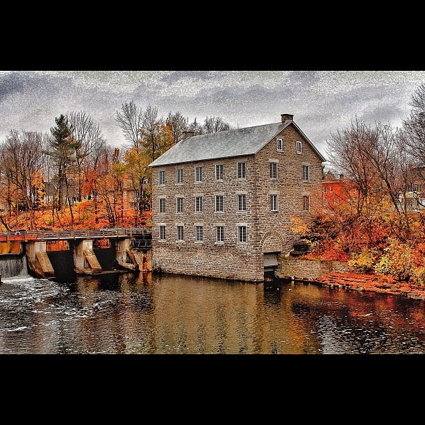 The Watson Mill in Manotick, ON. For more information on the Ottawa area visit www.ottawatourism.ca