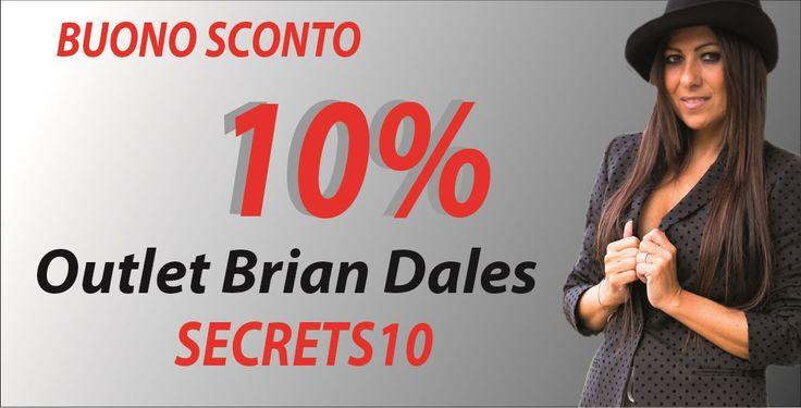 Utilizzate il codice buono sconto su Outle Brian Dales..buono shopping!!!!! http://www.outletbriandales.com/