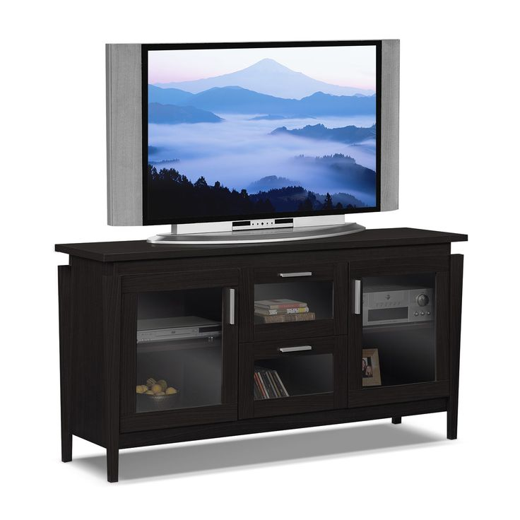 """American Signature Furniture - Saber Entertainment Wall Units 60"""" TV Stand"""
