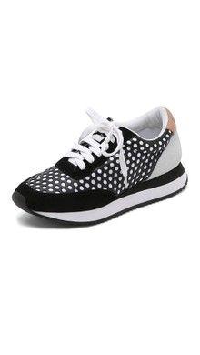 Tory Burch Тренировочные кроссовки Sawtooth с логотипом | SHOPBOP
