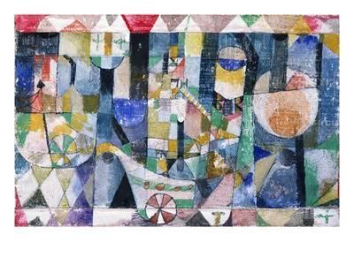 Hafenbild (Raddampfer), 1918 /142 Giclee Print by Paul Klee at Art.com