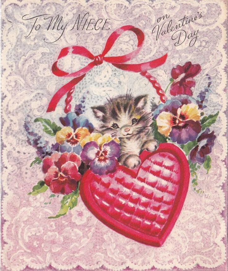141 best images about Valentines Day Cats – Cards of Valentine Day