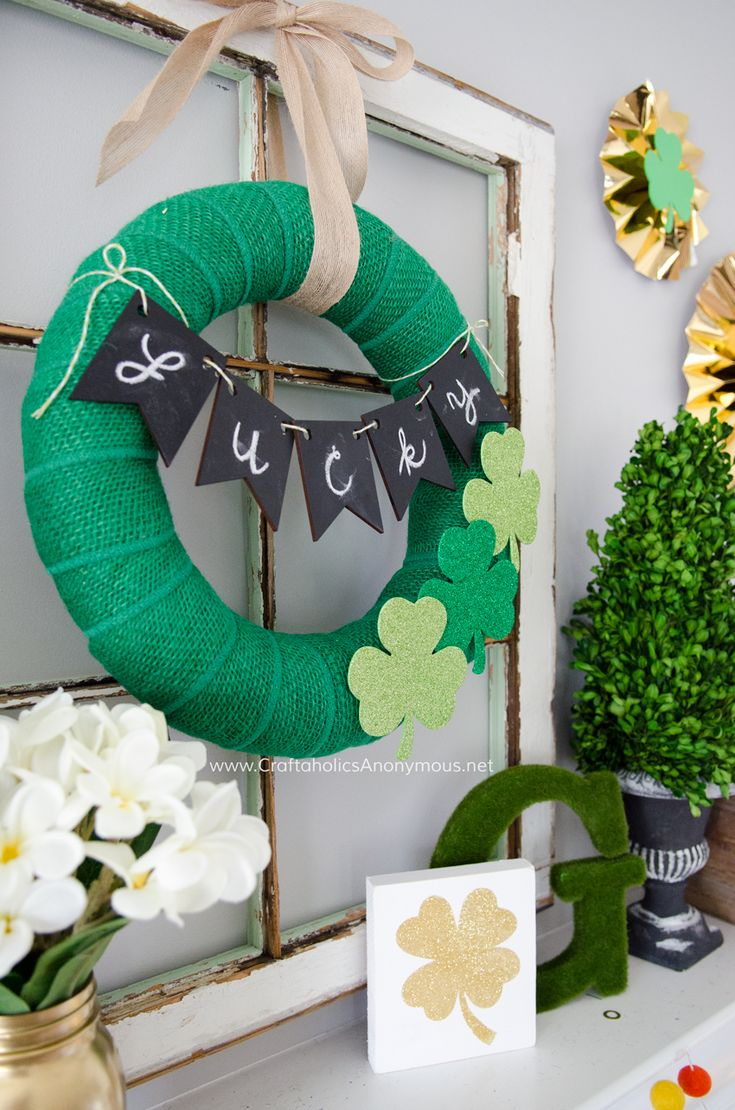 Whom can st patricks day crafts for adult share
