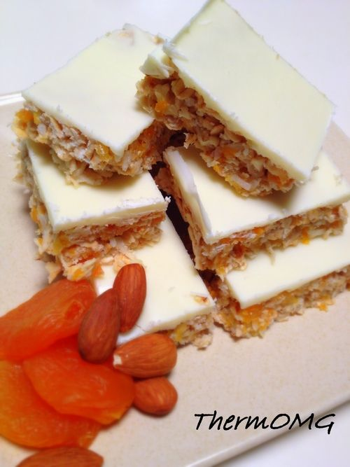 Apricot, Almond and Coconut Slice
