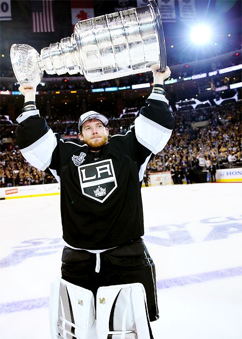 Jonathan Quick O Los Angeles Kings 2014 Stanley Cup Champions