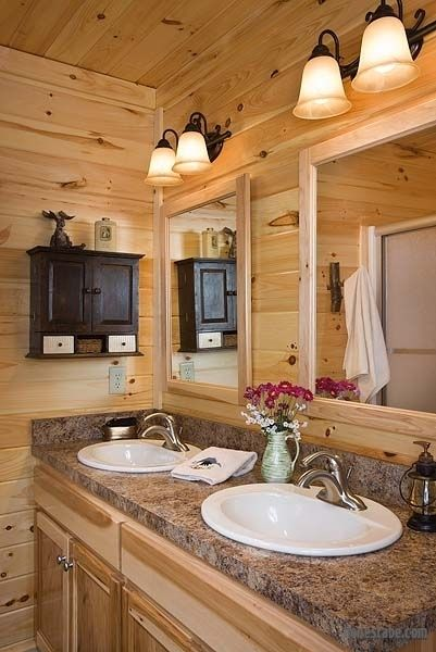 Oakbrook Plan 8×8 D Log Home