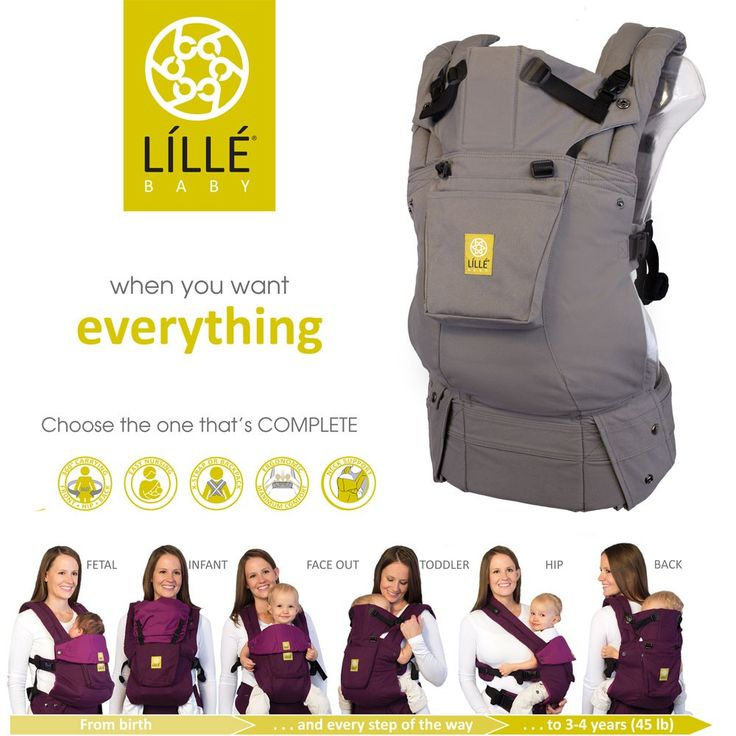LILLEbaby COMPLETE Original- Most Comfortable Baby Carrier | best baby carrier, ergonomic, organic, stylish | LÍLLÉbaby