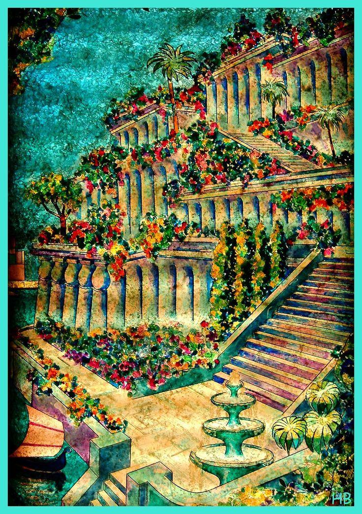 Hanging Gardens Of Babylon | Die hängenden Gärten der ...