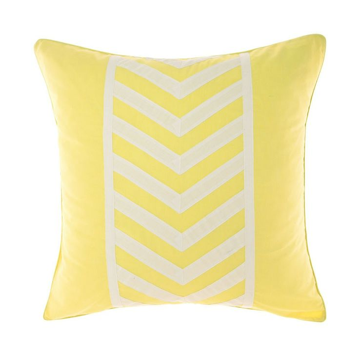 Yellow Ralston European Pillowcase - Deco Home - on Temple & Webster today