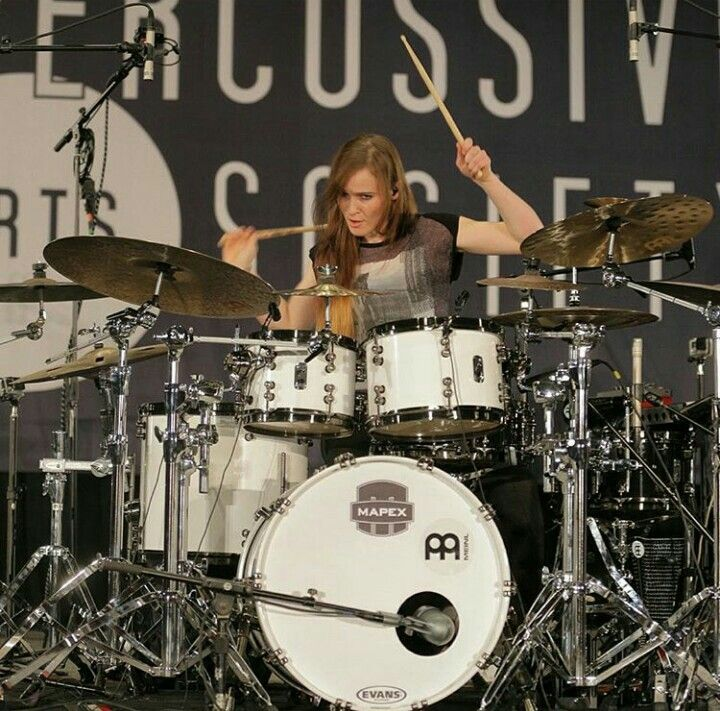 Anika Nilles, Mapex Drums