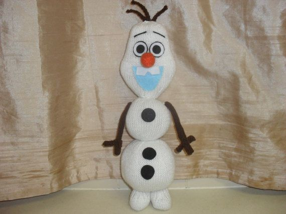 Olaf the snowman so cute  16 ins   film  frozen by TOYPATTERNS, £2.25