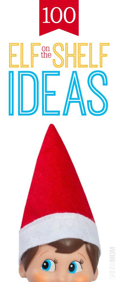 100 creative and east-to-do Elf on the Shelf ideas for boys and girls! You'll never run out of ideas! Popculture.com #elf #elfontheshelf #elfonshelf #elfideas #holiday #christmas #holidayideas