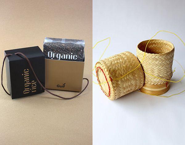 Organic Rice on Behance