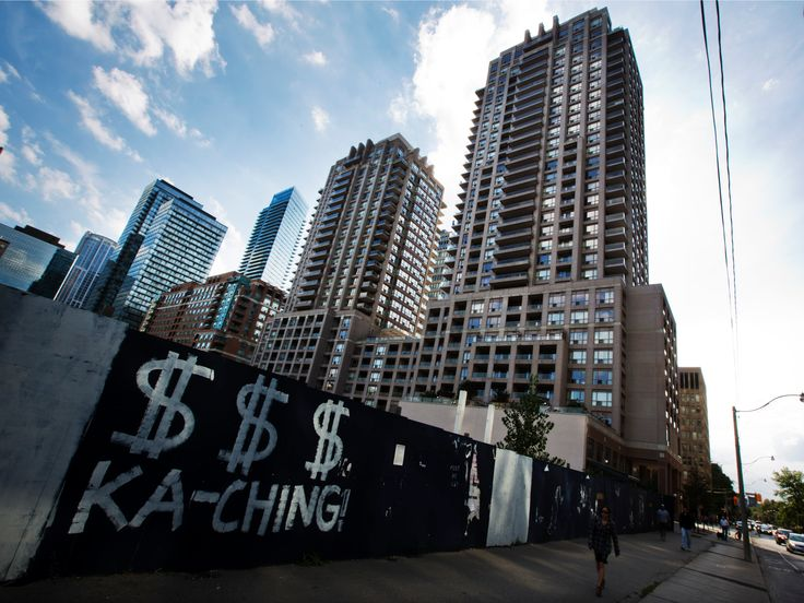 GOLDMAN SACHS: There's one big difference between Canada's crazy housing market and the US in 2007 - Canada's housing market has been red-hot. On a national level, home prices are up 14.22% versus a year ago and 76% since the world began to emerge from the global financial crisis in March 2009, according to the Teranet-National Bank House Price Index . Some local markets, like Hamilton and Toronto, have seen prices soar more than 25% year-over-year.  The explosion in Canada's home prices has…