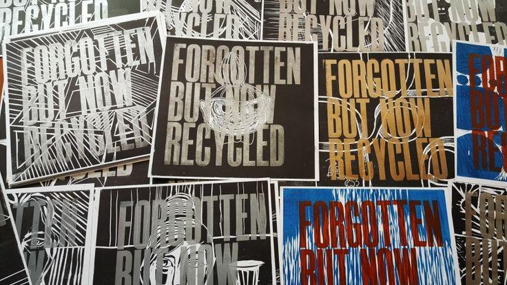 Bortglömd konst – Letterpress på Rundqvist & Co