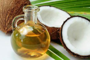 Coconut oil will definitely improve the function of the thyroid due to its medium-chain fatty acids. At the same time, it will boost energy and stimulate the metabolism