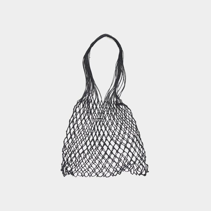 Summer Sale: up to 50% off | Grocery String Bag Black