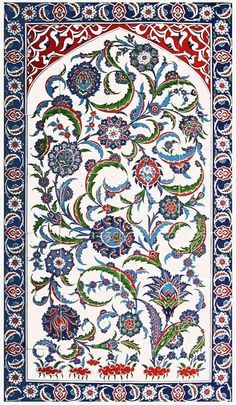 Traditional Iznik Tile Art - ShopTurkey.com