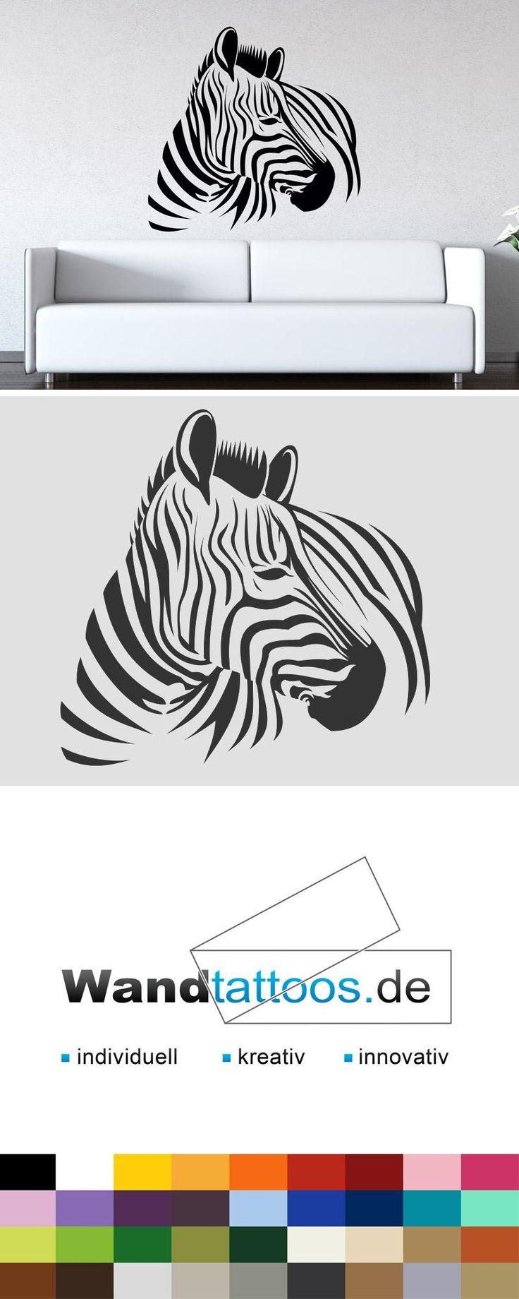 Good Wandtattoo Zebra Afrika