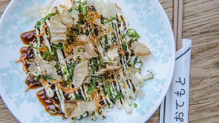 Kuma laver billig japansk gademad på Nørrebro, og har okonomiyaki på kortet til en 50'er.