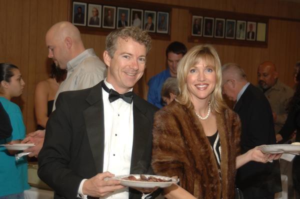 Rand Paul Wife | Dr. Rand Paul and his wife Kelley Photos from Carol Paul (Carol Paul ...