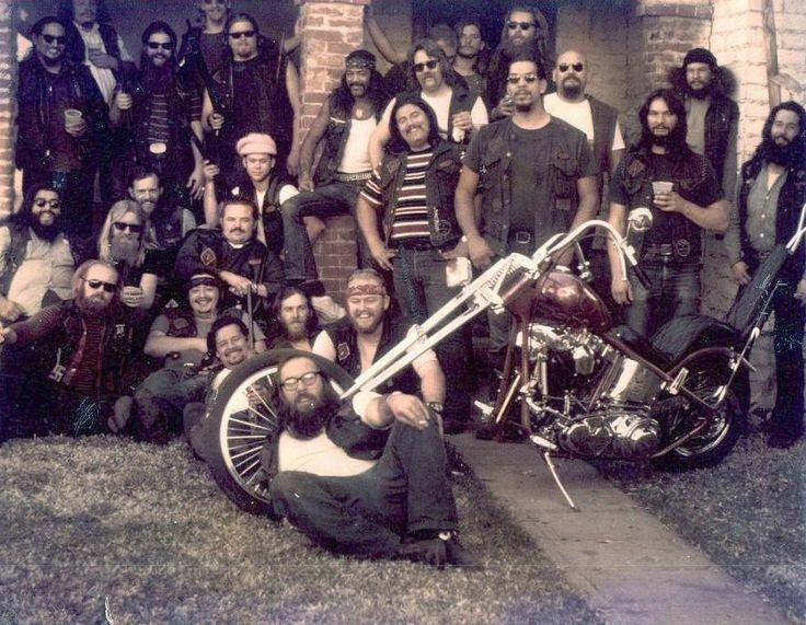 Bikers and gang bangs
