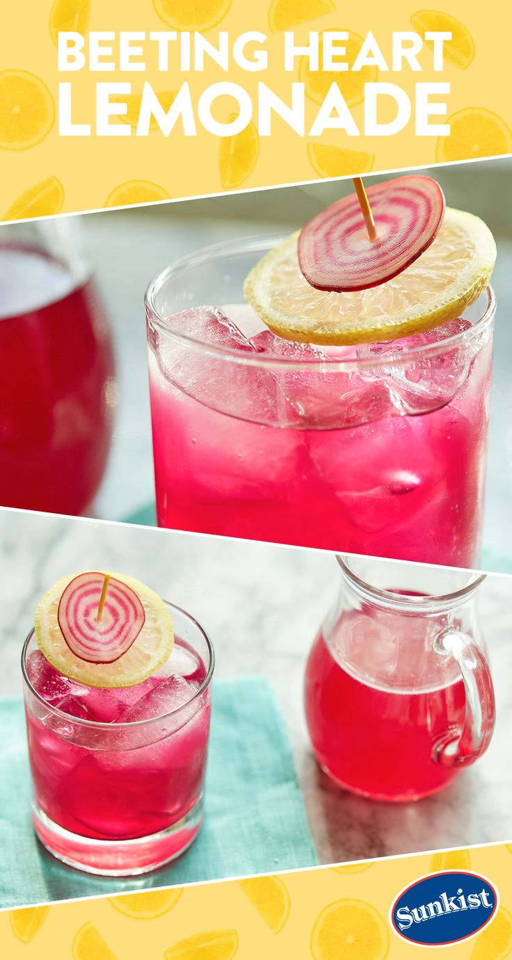 Beets add natural sweetness and beautiful color to this lemonade recipe. Serve up a pitcher of this refreshing, easy and eye-catching beverage at your next backyard barbeque!