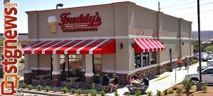 Freddy's Steakburgers and Frozen Custard, St. George, Utah, April 23 2013   Photo by Brett Barrett, St. George News