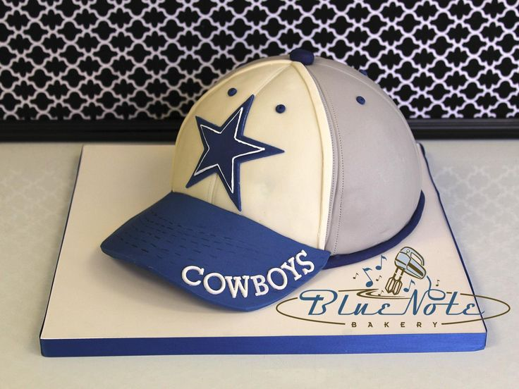 Dallas Cowboys Hat Blue Note Bakery Austin Texas