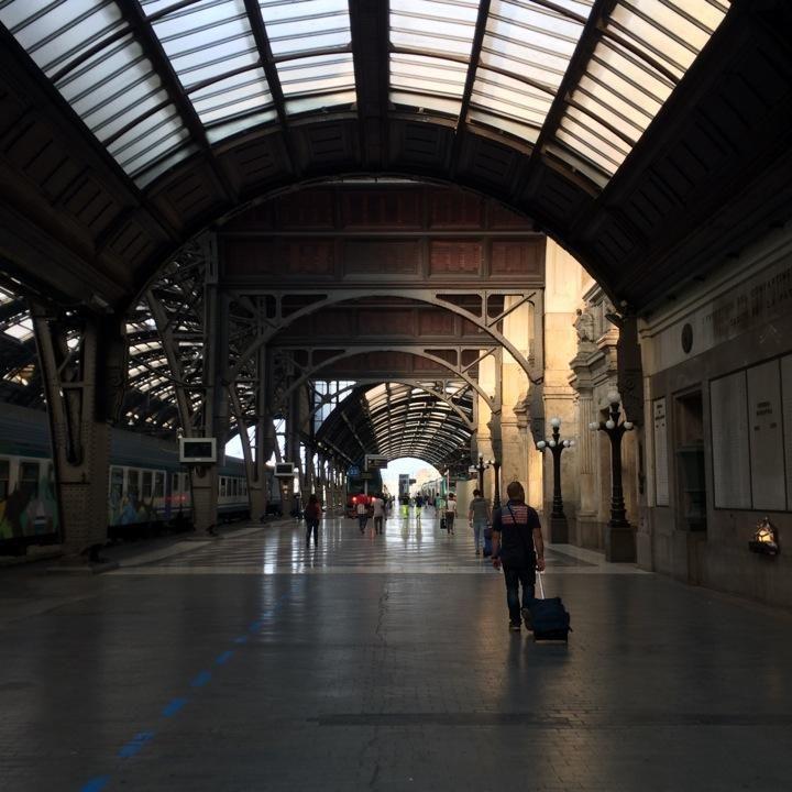 Twitter / @Ichweisswo: Off to a day trip to Bologna & Modena #blogville #emiliaromagna (@Stazione Milano Centrale)