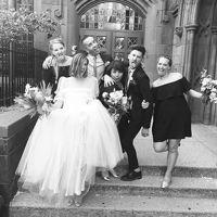 Agyness Deyn boda Para Joel McAndrew | Vogue británica