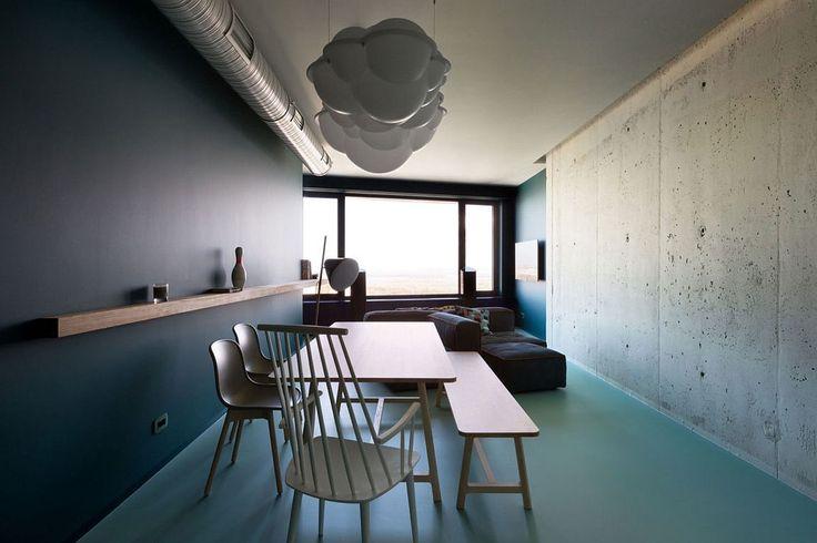 Colorful Minimalism Meets Captivating Views Inside This Kiev Apartment www.bocadolobo.com #bocadolobo #luxuryfurniture #interiodesign #designideas